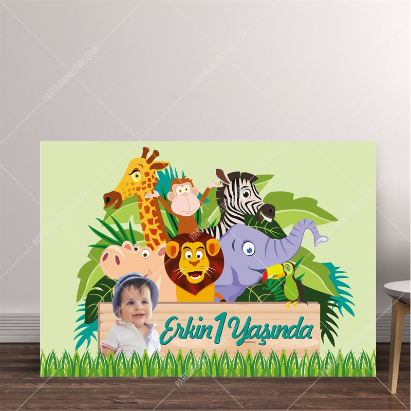Doğum Günü Panosu Safari