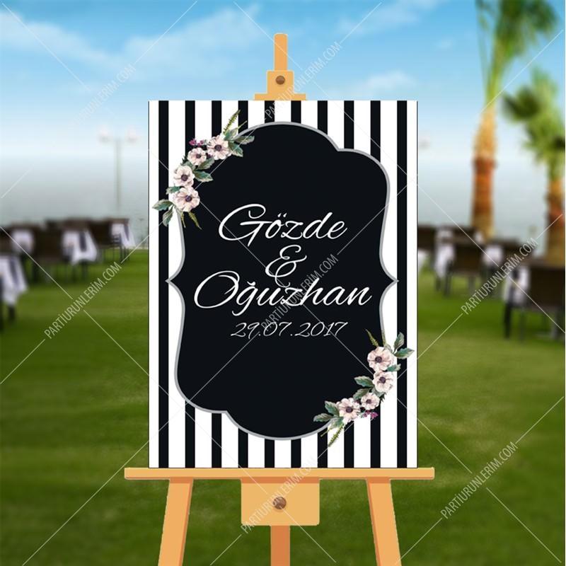 Düğün, Nişan, KIna Hatıra Panosu 70x100 cm