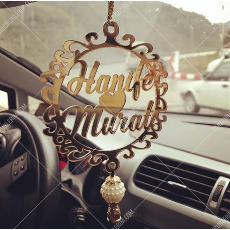 Araç Dikiz Aynası Süsü