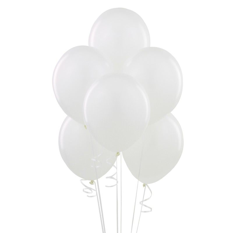 Beyaz Balon 10 Adet