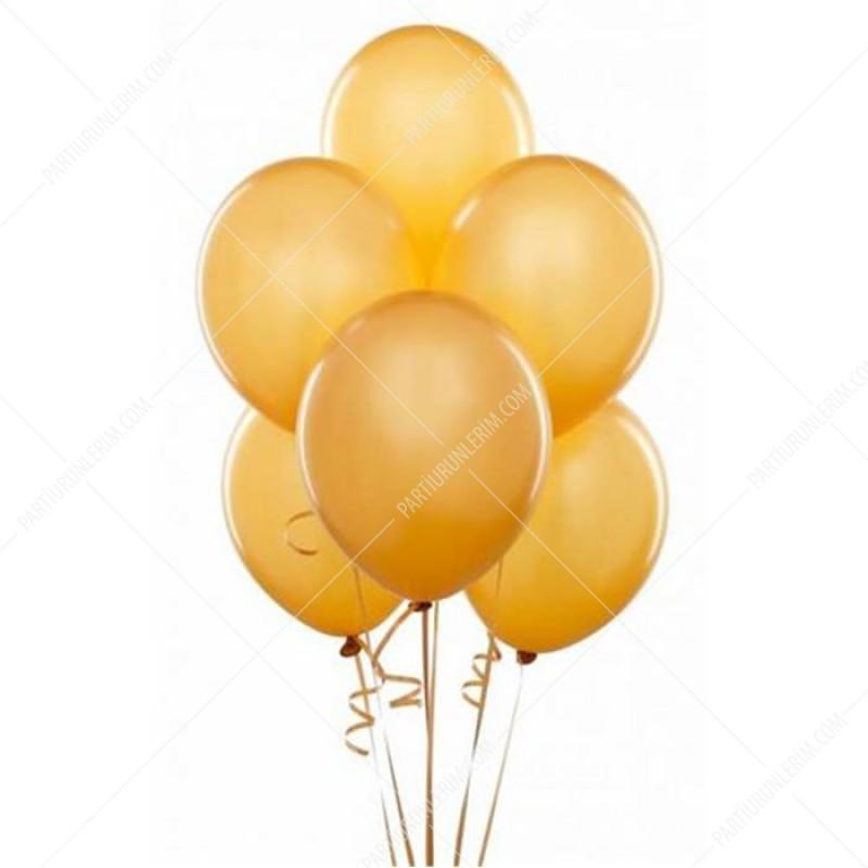 Gold Balon 10 Adet