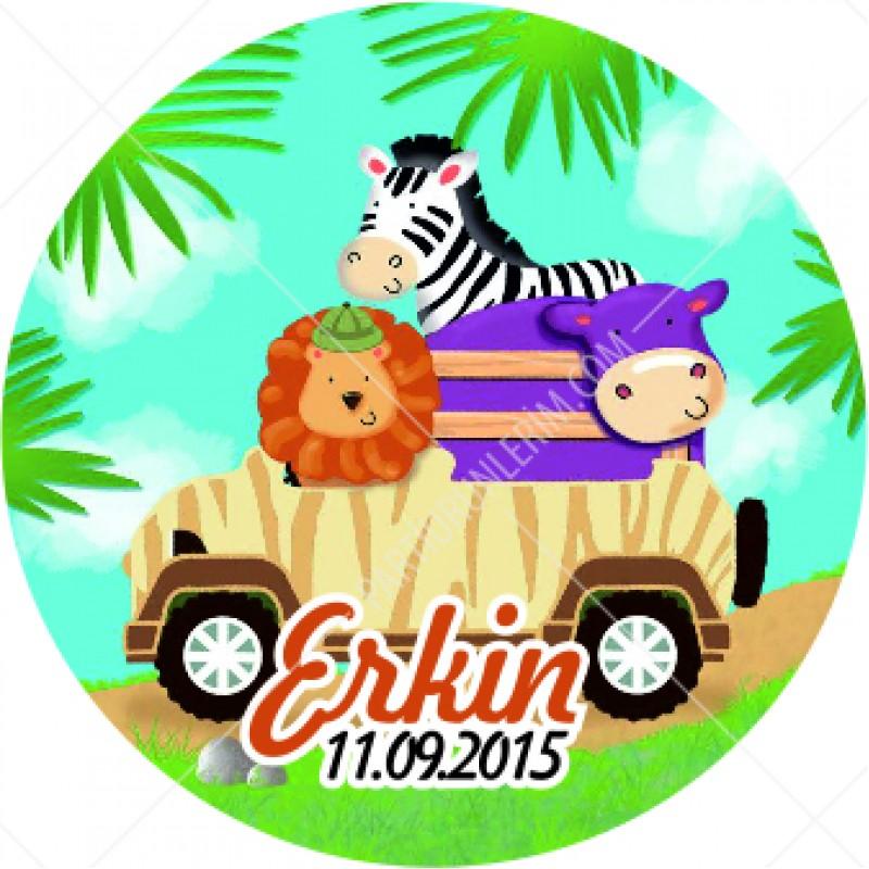 Sticker Safari Konsepti
